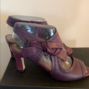 Bow tie Ankle Heels